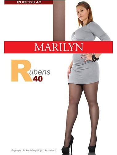 Ciorapi clasici marimi mari Marilyn Rubens 40 den