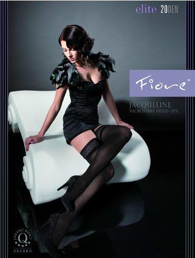 Ciorapi cu banda adeziva Fiore Jacqueline Exclusive 20 den