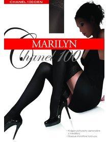 Ciorapi cu banda adeziva Marilyn Chanel 100 den