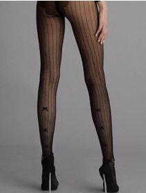 Ciorapi cu dungi si fundita Fiore Adriana 30 den