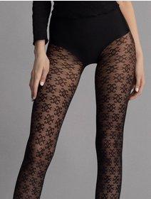 Ciorapi cu model Fiore Carrie 30 den