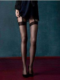 Ciorapi cu model Fiore Charleston 20 den