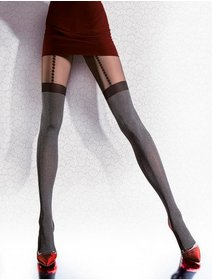 Ciorapi cu model Fiore Demetria 40 den