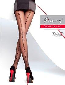Ciorapi cu model Fiore Florida 20 den