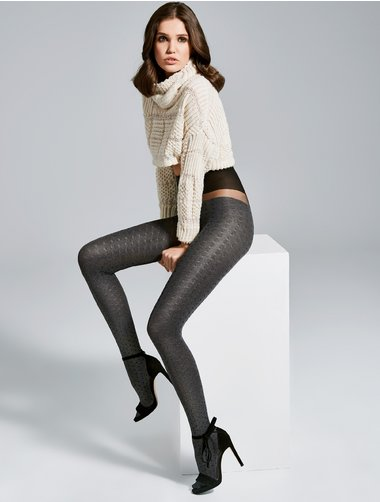 Ciorapi cu model Fiore Hola 40 den