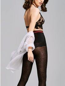Ciorapi cu model Fiore Julie 40 den