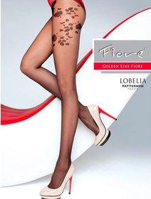 Ciorapi cu model Fiore Lobelia 20 den