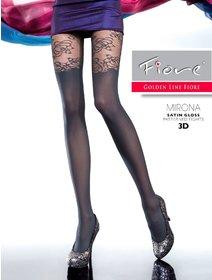 Ciorapi cu model Fiore Mirona 20 den