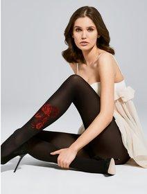 Ciorapi cu model Fiore Oui 40 den