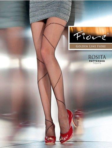 Ciorapi cu model Fiore Rosita 20 den