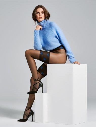 Ciorapi cu model Fiore Sky 20 den