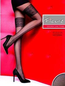 Ciorapi cu model Fiore Tullia 20 den