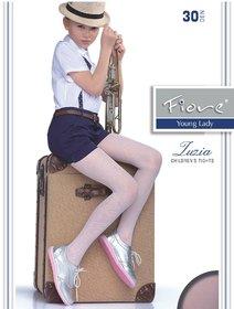 Ciorapi cu model Fiore Zuzia 30 den
