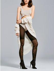 Ciorapi cu model jacard Fiore Couture 40 den