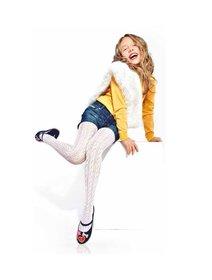 Ciorapi cu model jacard Knittex Luiza 20 den