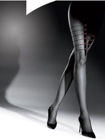 Ciorapi cu model Knittex Crime Story 20 den