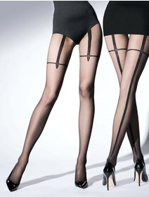 Ciorapi cu model Knittex Magnetize 20 den