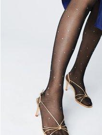 Ciorapi metalizati cu picatele Fiore Aretha 20 den