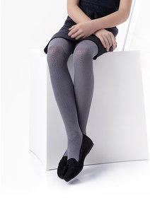 Ciorapi microfibra cu model Knittex Alice 40 den