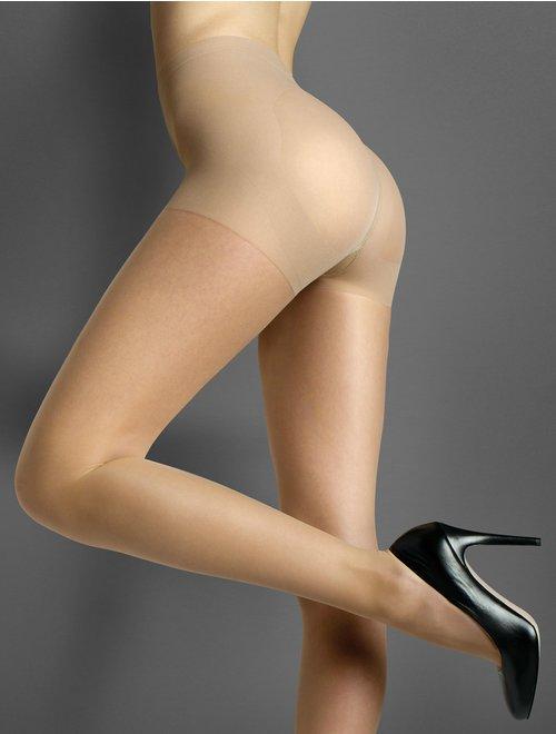 Ciorapi modelatori compresivi (5.2-9 mmHg) Marilyn Lux Line Shape 5 30 den