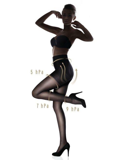 Ciorapi modelatori cu push-up Marilyn Plus Up 40 den