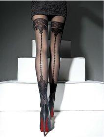 Ciorapi cu model Fiore Apriel 40 den