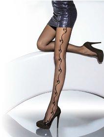 Ciorapi cu model Fiore Carissa 20 den