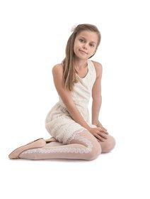 Ciorapi copii cu model Knittex Fabiana 20 den
