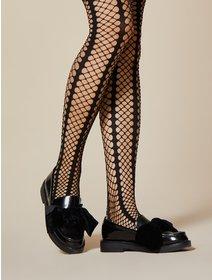 Ciorapi plasa mare Fiore Lady Rock