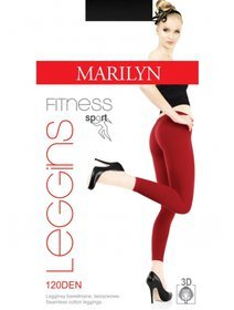 Colanti bumbac sport fara cusaturi Marilyn Magic Fitness 120 den