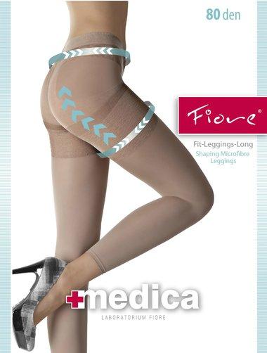 Colanti microfibra modelatori Fiore Legging Long 80 den
