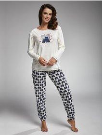 Pijamale Cornette Two Cats 685-160
