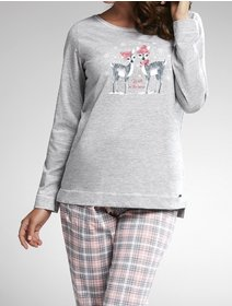 Pijamale Cornette Winter Day 627-161
