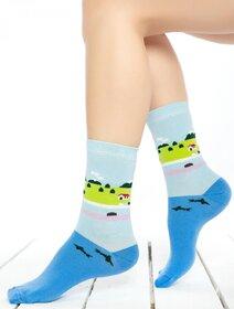 Sosete colorate cu natura Socks Concept SC-1688