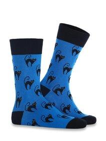 Sosete colorate cu pisica Socks Concept SC-1851