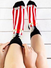 Sosete colorate cu popcorn Socks Concept SC-1556