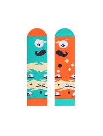 Sosete colorate pentru copii Nanushki Mustachio Kids
