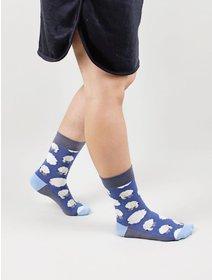 Sosete colorate The Happy Toe Flying Rams Dark Blue