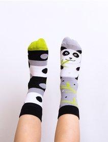 Sosete copii cu model Nanushki Lazy Panda Kids