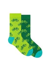 Sosete cu biciclete de copii Nanuhski Tour de Green Kids
