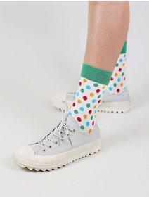 Sosete cu buline colorate The Happy Toe Rainbow Dots