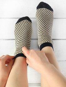 Sosete cu model si fir metalizat Socks Concept SC-1816