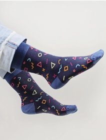 Sosete forme geometrice The Happy Toe Geometrical Affair