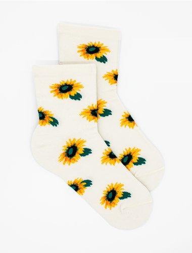 Sosete model floarea soarelui Steven S099