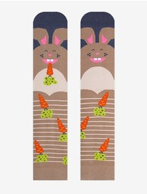 Sosete model unisex Nanushki Funny Bunny