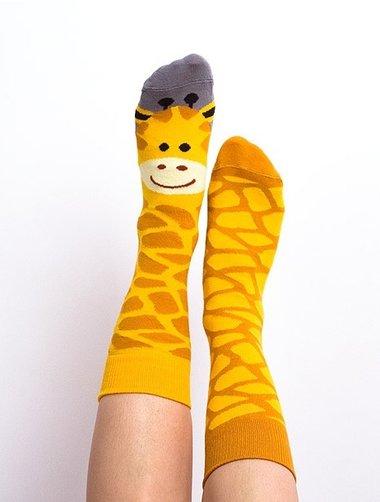 Sosete model unisex Nanushki Gigi Giraffe