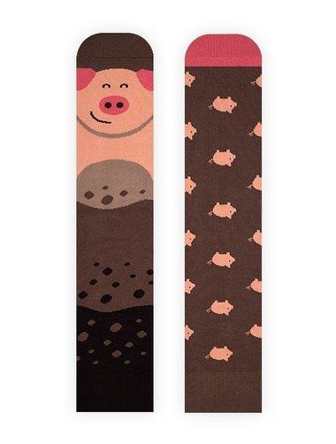 Sosete model unisex Nanushki Piggy