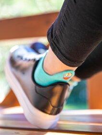 Sosete scurte colorate cu emoji Socks Concept SC-1879-9