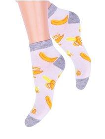 Sosete scurte model banane Steven S114