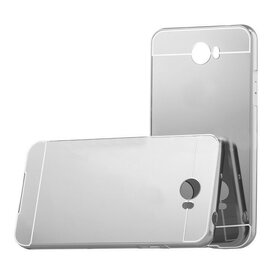 Aluminium Mirror pentru Huawei y5 II Silver